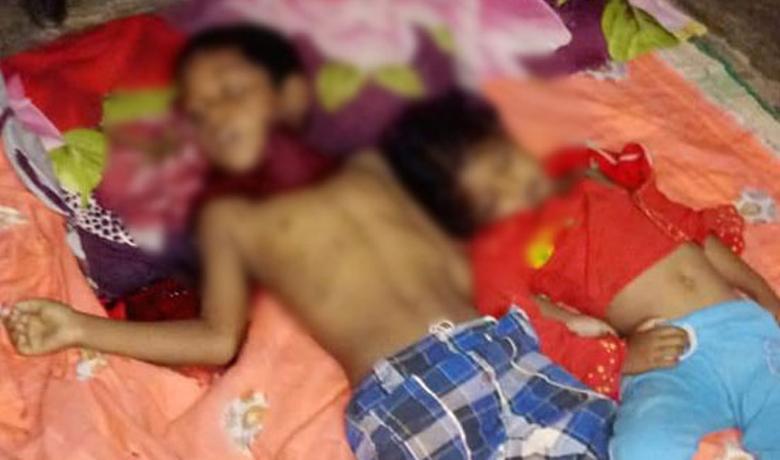 Man kills his two children after wife deserts him, తండ్రి కాదు..రాక్షసుడు