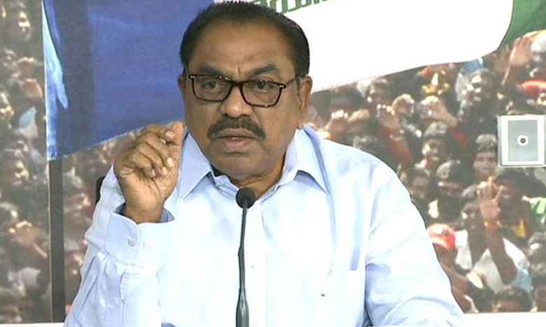 C Ramachandraiah Slams Chandrababu Naidu, ఓటమి భయంతోనే ఈవీఎంలపై బాబు విమర్శలు