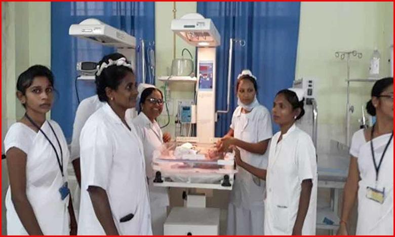 Woman gives birth to triplets in Jagtial, ఒకే కాన్పులో ముగ్గురు..జగిత్యాలలో అరుదైన ప్రసవం