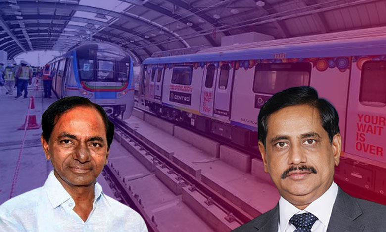 Metro MD Reddy, మెట్రో ఎండీగా మరో ఏడాది వరకు  ఎన్వీఎస్ రెడ్డి.. ఉత్తర్వులు జారీ