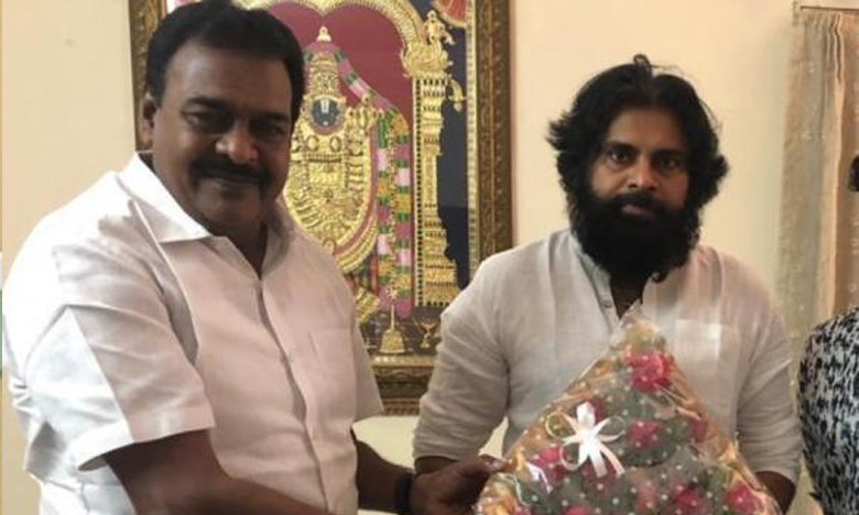 Janasena Razole MLA Rapaka Varaprasad Meets Pawan Kalyan, పవన్ను కలిసిన జనసేన ఏకైక ఎమ్మెల్యే రాపాక