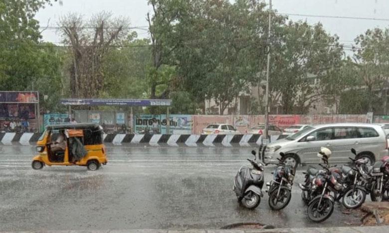 Monsoon 2019: Chennai rains, ఎన్నాళ్లో వేచిన ఉదయం.. చెన్నైలో వర్షాలు