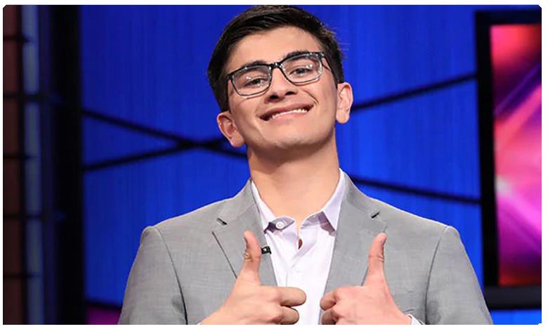 Indian American teen wins 0000 quiz show prize in the US, క్విజ్లో నెగ్గి.. లక్ష యూఎస్ డాలర్లు గెలుచుకున్నాడు