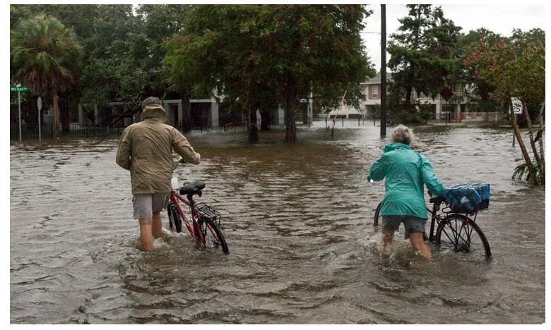 Lousiana Floods, అమెరికాలో తుఫాను బీభత్సం