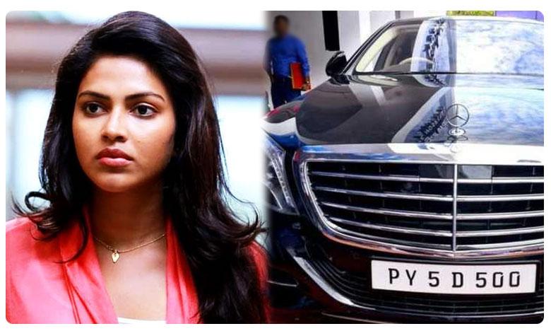 Vehicle tax evasion case against Amala Paul
