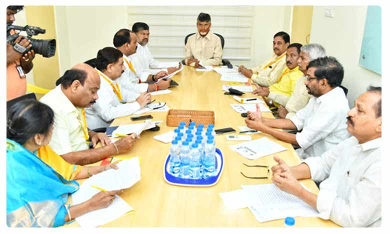 Chandrababu naidu On About TDP Politburo Meeting