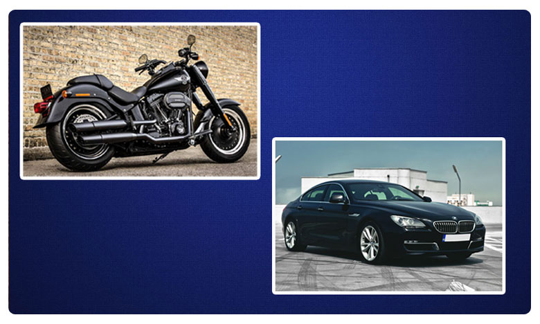 Hyderabad city people craze about branded high-end cars and bikes