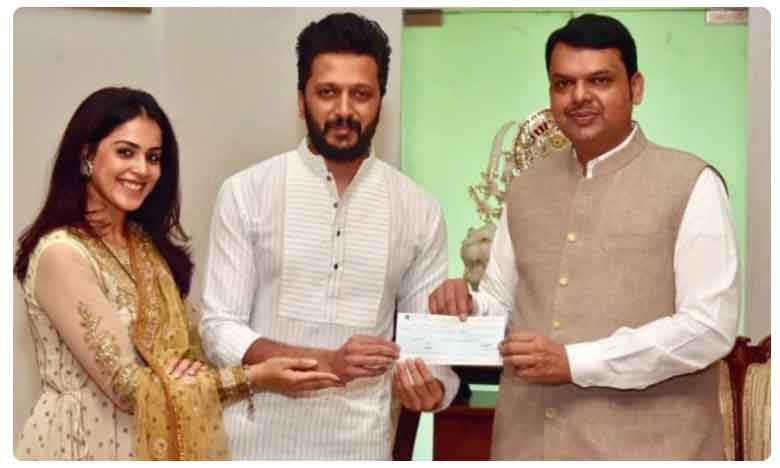 Riteish and Genelia donate Rs 25 lakh for Maharashtra flood relief