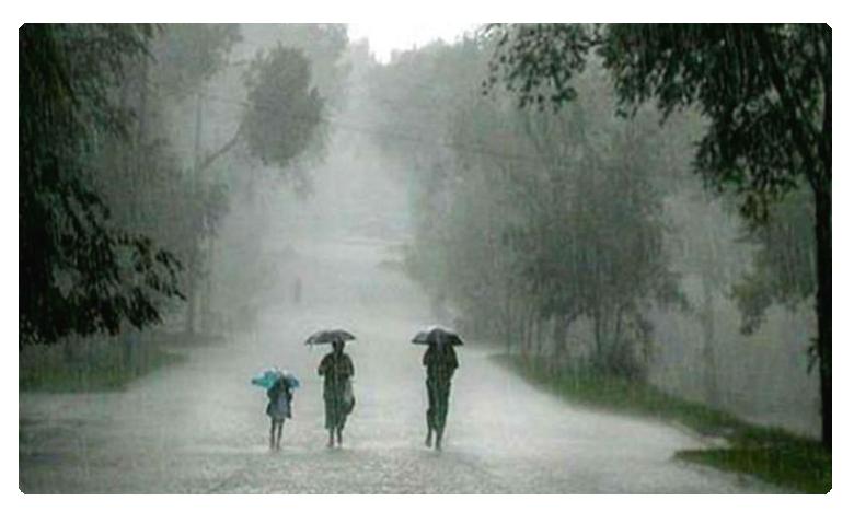 Rain with thunderstorms in Telangana, రెండ్రోజులు ఉరుములతో కూడిన వానలు.. రాజధానికి భారీ వర్ష సూచన..