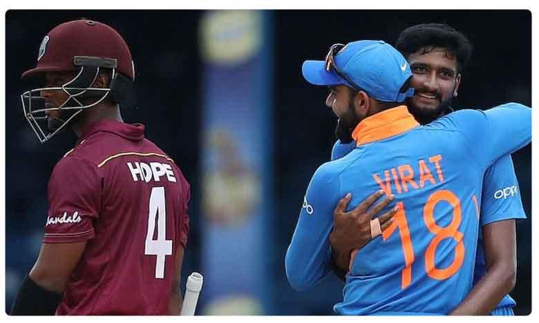 India vs West Indies 3rd ODI Match Updates, భారత లక్ష్యం.. డక్ వర్త్ లూయిస్ ప్రకారం..