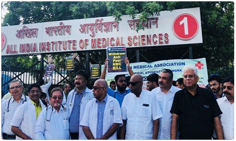 Doctors Strike Against NMC Bill hit Medical Services Today