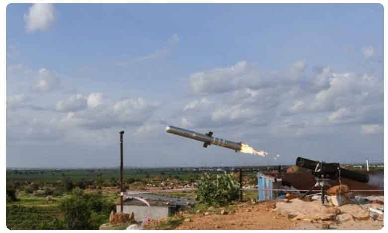 Boost For Indian Army as DRDO Test-Fires Indigenous Man Portable Anti-Tank Guided Missile