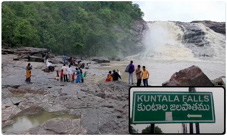 TV9 effect on Kuntala waterfalls