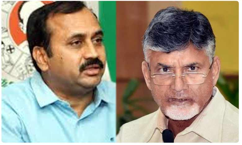 Manalagiri MLA Rk hot comments on TDP chief chandrababu letter