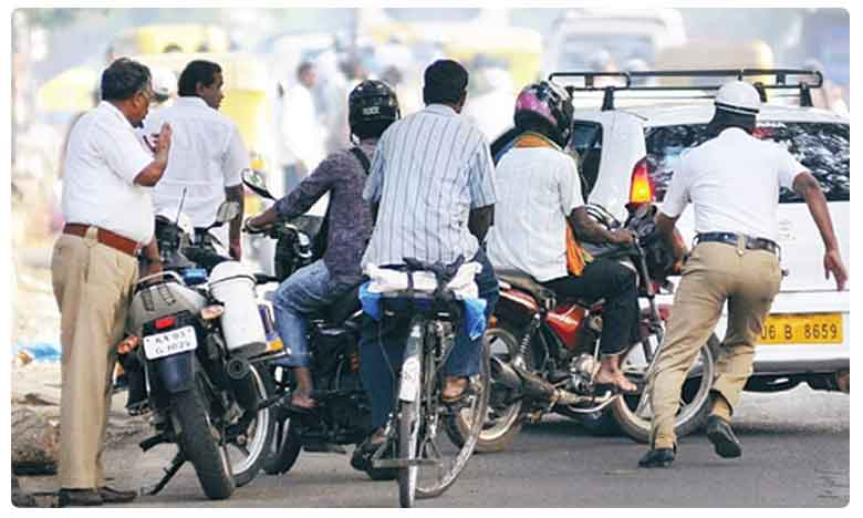 Bengaluru traffic police collect rs 72 lakhs fine after new MV Act