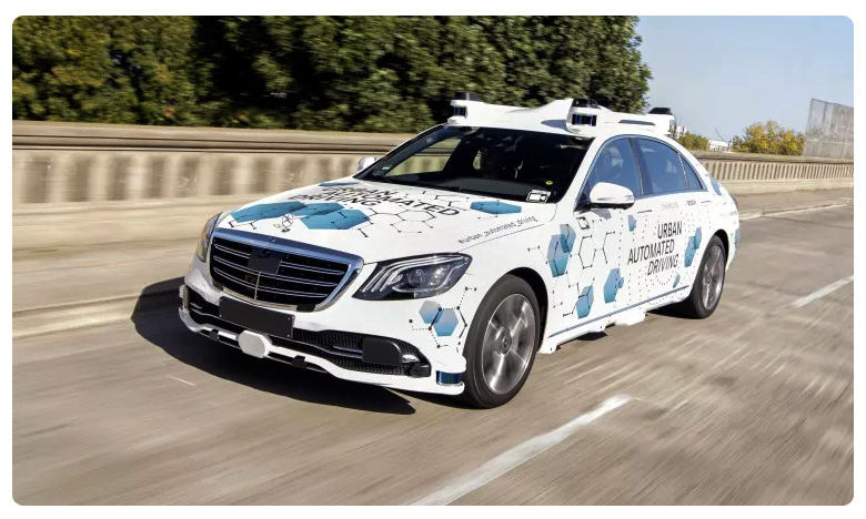 Mercedes Benz and Bosch Begin testing driverless s class, డ్రైవర్ లెస్ కార్ల శ్రేణిలోకి ఇక మెర్సిడెస్ బెంజ్..