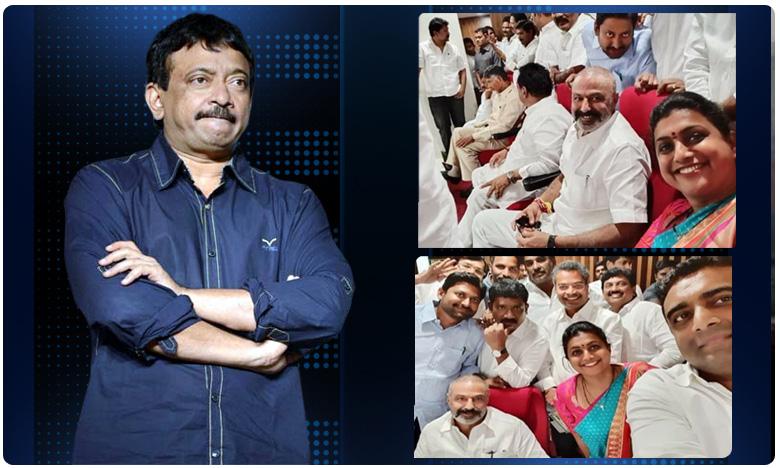 Director RGV Sensational tweets, బాలయ్యతో రోజా సెల్ఫీ.. నోరుపారేసుకున్న ఆర్జీవీ!