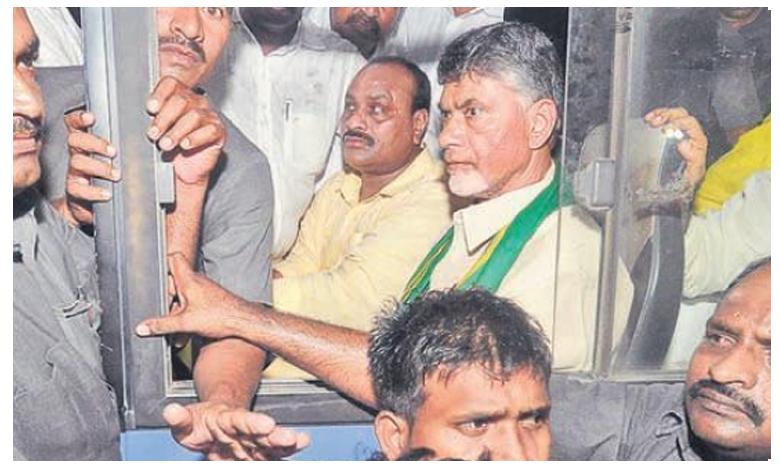 AP Capital War, బ్రేకింగ్ : చంద్రబాబు, టీడీపీ ఎమ్మెల్యేల అరెస్ట్..