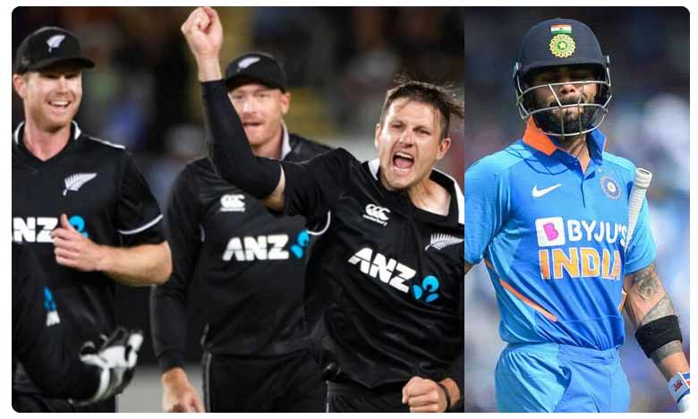 India vs New Zealand Live Score 2nd ODI, పొట్టి సిరీస్ మనం కొడితే..గట్టి సిరీస్ వాళ్లు ఎగరేసుకుపోయారు