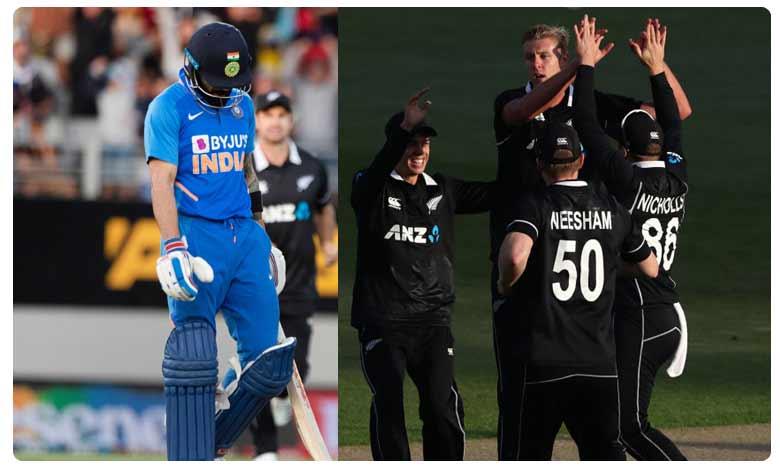 India vs New Zealand Highlights 3rd ODI, పగ తీర్చుకున్న కివీస్..వన్డే సిరీస్ క్లీన్ స్వీప్…