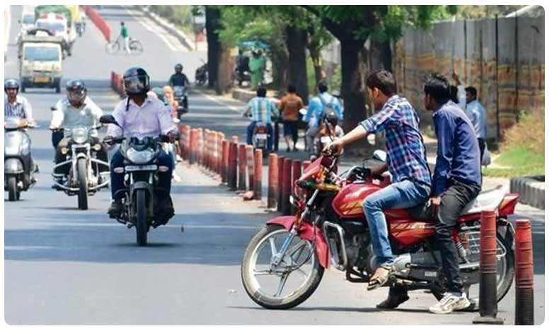 Bike owner fined huge amount for violating traffic rules, మైనర్కు బైక్ ఇచ్చినందుకు.. రూ.42,500 జరిమానా..!