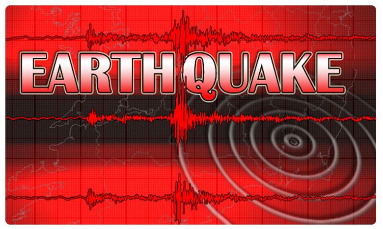 union territory ladakh hit with earthquake, లడఖ్లో కంపించిన భూమి.. రిక్టర్ స్కేల్ పై 5.4గా నమోదు