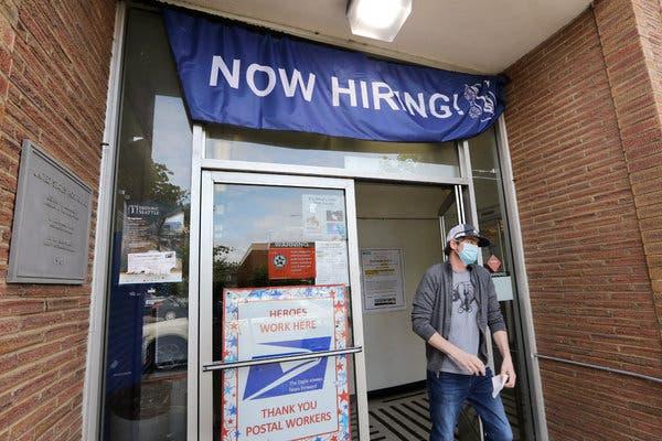 Unemployment Claims Show Continued Pressure on Economy, అమెరికాలో ఉద్యోగాలపై కోవిడ్ దెబ్బ…లెక్కలు చూస్తే షాక్…