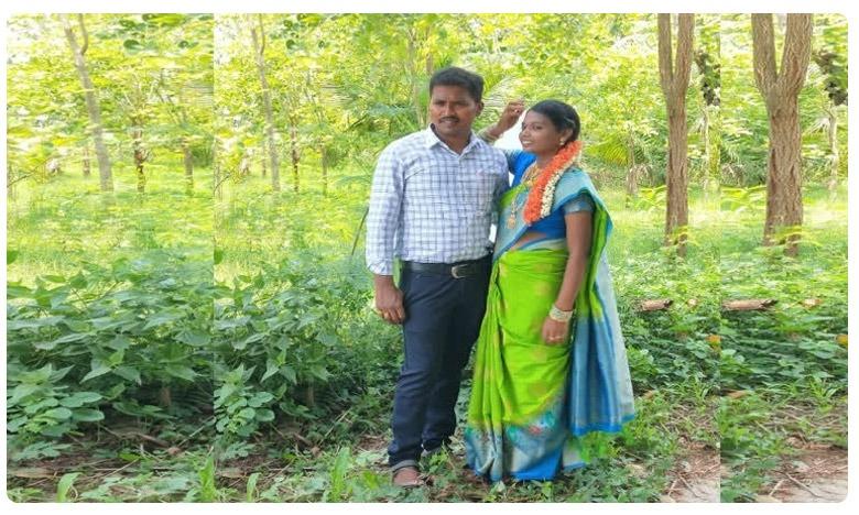 pregnant women lost husband in a road accident, గర్భిణి అయిన భార్యను చూసేందుకు వెళ్తూ…తిరిగిరాని లోకాలకు…