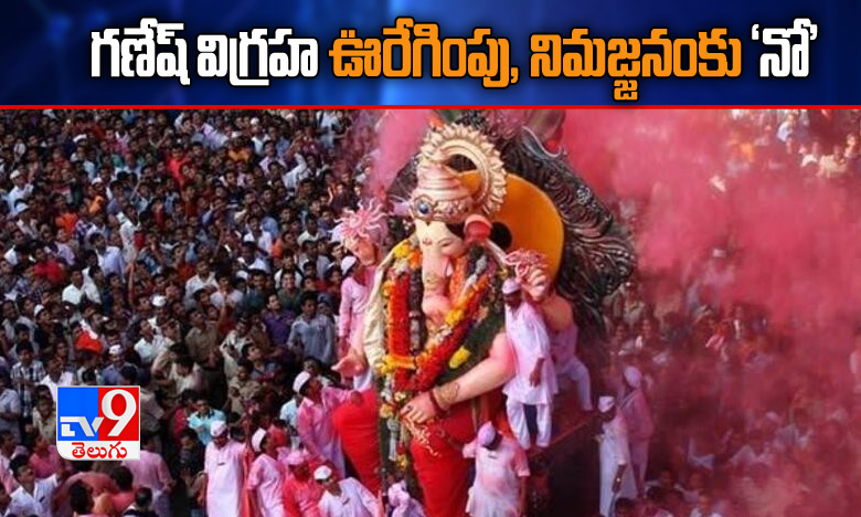 Ganesh Idol Immersion, గణేష్ విగ్రహ ఊరేగింపు, నిమజ్జనంకు 'నో'