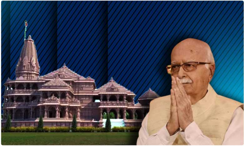 lk advani comments on ram mandir construction, నా రథయాత్ర లక్ష్యం సిధ్ధించింది, ఎల్.కె. అద్వానీ