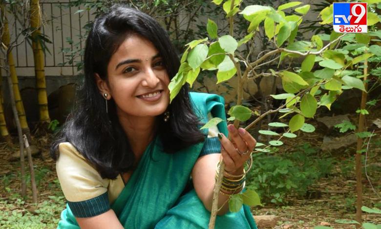 Ananya Nagalla, గ్రీన్ ఇండియా ఛాలెంజ్ ను స్వీకరించి   హీరోయిన్ అనన్య నాగళ్ళ