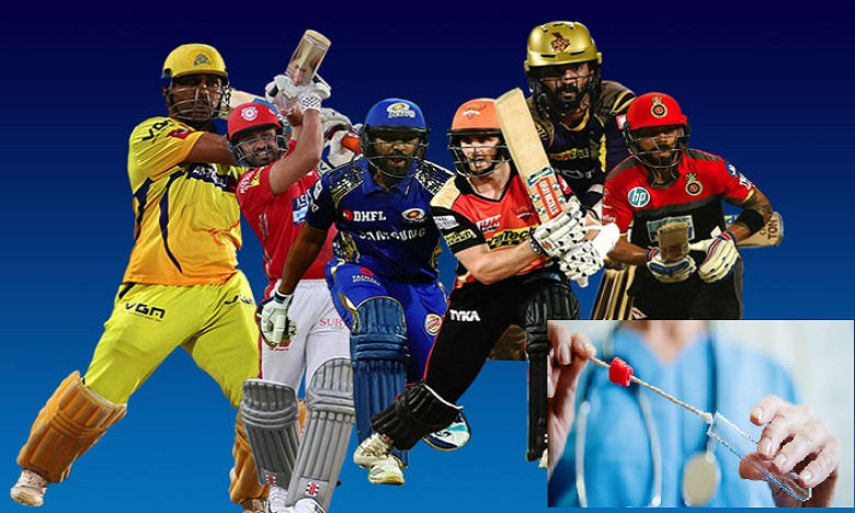 Doping tests for IPL 2020 cricketers, ఐపీఎల్ క్రికెటర్లకు డోపింగ్ పరీక్షలు