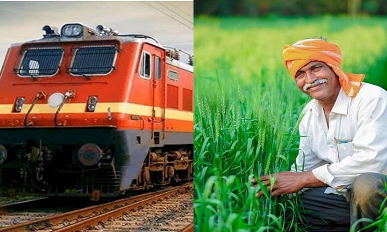 railways to start kisan rail services from tomorrow, రైతన్నలకు గుడ్ న్యూస్… పట్టాలెక్కుతున్న తొలి 'కిసాన్ రైలు'