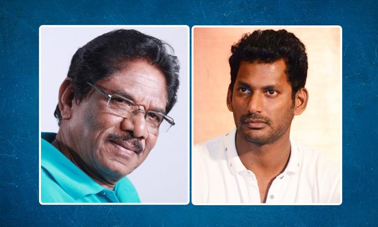 Director Bharathiraja sensational decision against Actor Vishal, నటుడు విశాల్కి వ్యతిరేకంగా దర్శకుడు భారతీరాజా సంచలన నిర్ణయం