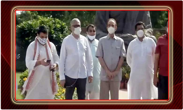 will boycott rajyasabha till mps suspension revoked .delhi, ఎంపీల సస్పెన్షన్ లను రద్దు  చేసేంతవరకు 'సభ' బాయ్ కాట్, గులాం నబీ ఆజాద్
