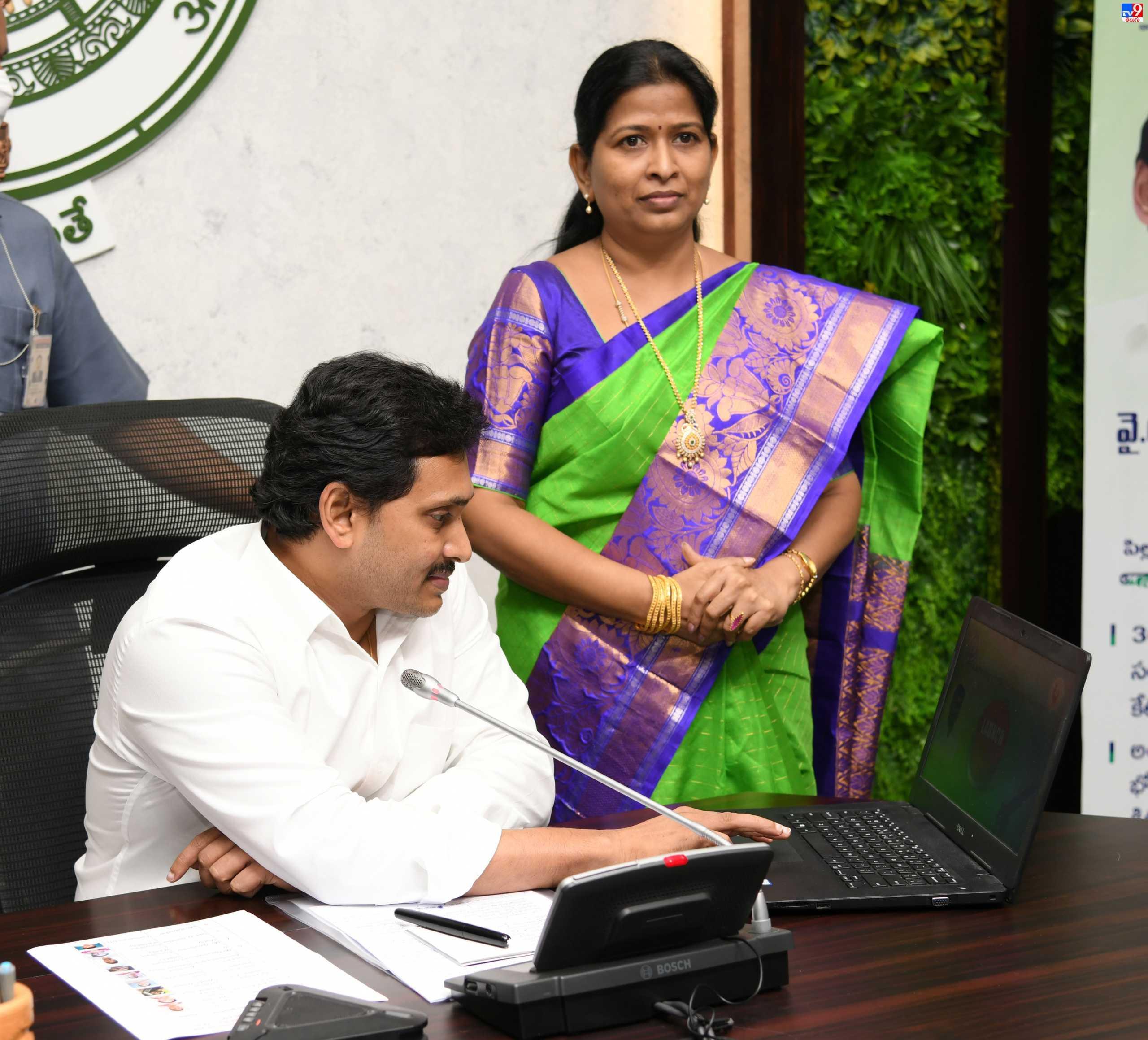 AP CM Jagan, వైఎస్సార్ సంపూర్ణ పోషణకు శ్రీకారం