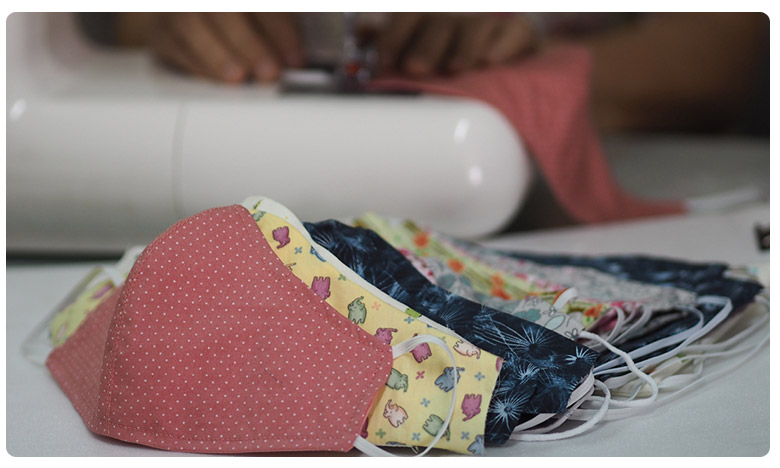 Home Made masks, హోం మేడ్ మాస్క్లు ఉత్తమమైనవే: స్టడీ
