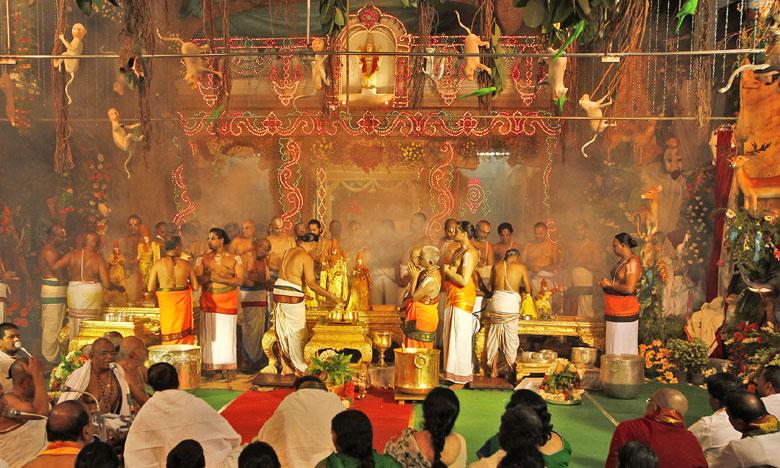 shodasadina sundarakanda deeksha in tirumala, తిరుమలలో షోడశదిన సుందరకాండ దీక్ష