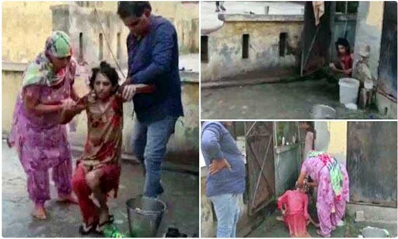 woman locked inside toilet for over a year by husband, టాయిలెట్ లో ఏడాదిగా మహిళ నిర్బంధం