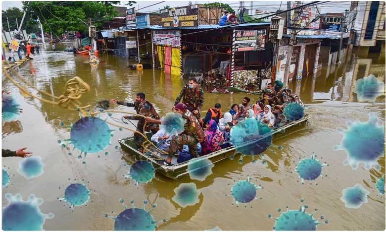 hyderabad 19 people who were rescued from flood hit areas test positive for coronavirus, హైదరాబాద్ వరద బాధితుల్లో 19 మందికి కరోనా పాజిటివ్ ?