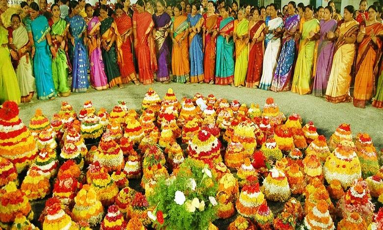 engilipula bathukamma, ఘనంగా ఎంగిలిపూల బతుకమ్మ సంబరాలు..