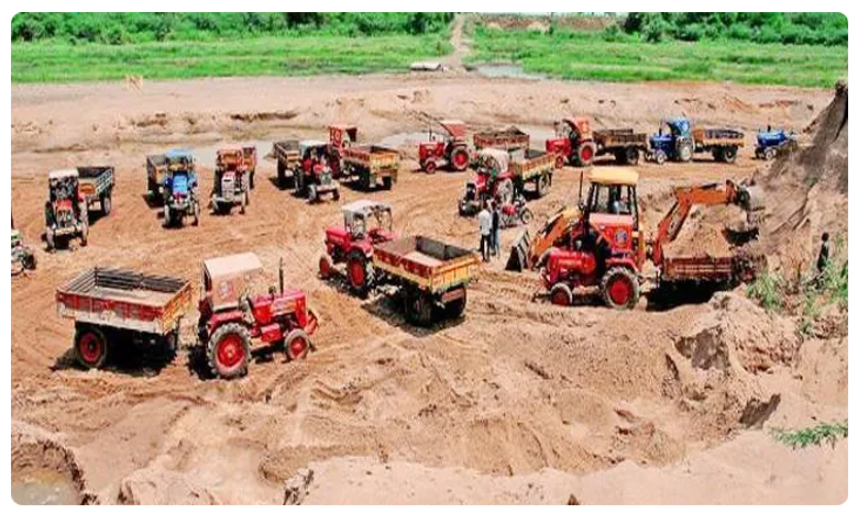 Sand Corporation in AP, ఏపీ : టెక్నాలజీ ఉపయోగించుకుని ఇసుక రీచ్ల రివ్యూ