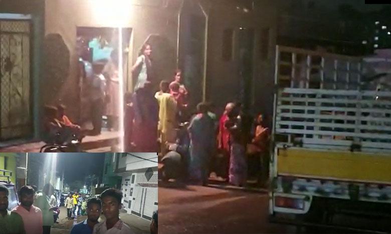 Midnight Big sounds from earth in hyderabad rajendra nagar circle, భూమిలో అర్థరాత్రి భారీ శబ్ధాలు.. భాగ్యనగర ప్రజలు కలవరం