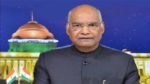 India faced an expansionist move on its borders .. Ram Nath Kovind