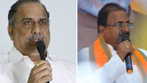 Somu Veerraju who will meet Mudragada today