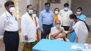 Covid Vaccine in Tirupati