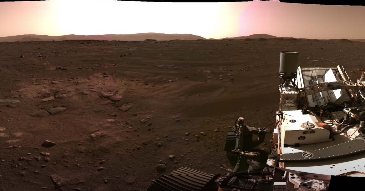 2 11 NASA Perseverance Rover crashes on Mars .. Wow if you look at the latest photos ..