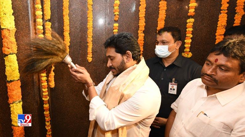 CM Jagan inaugurates Antarvedi Temple Chariot