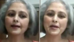 Senior Actress Jayasudha New Look Goes Viral