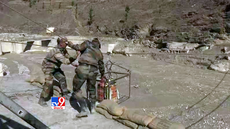Uttarakhand Rescue Operation Photos 5 Uttarakhand Rescue Operation Photos: Ongoing relief operations near Joshimath in Chamoli after the watershed .. - Uttarakhand glacier burst: Rescue operation underway at tunnel in Joshimath Photos